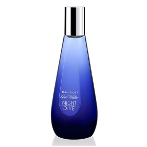 DAVIDOFF COOL WATER NIGHT DIVE EAU DE TOILETTE WOMAN 30ML VAPORIZADOR Pour Femme